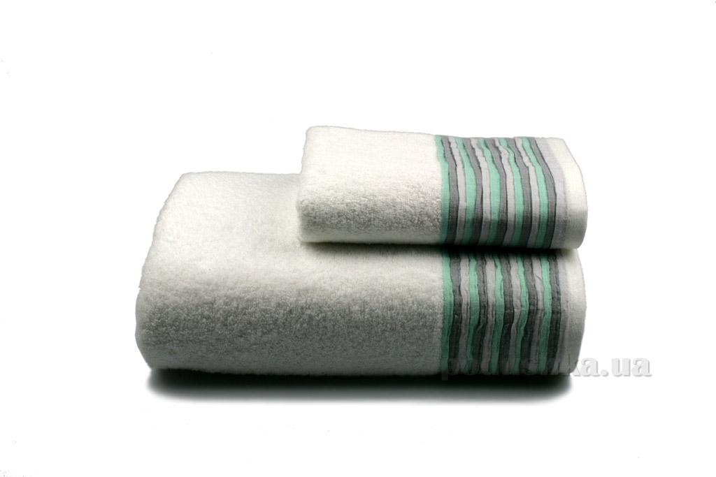 Полотенце махровое Home line Eirene New белое