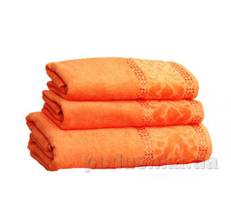 Полотенце махровое Home Line Мел тэм персиковый