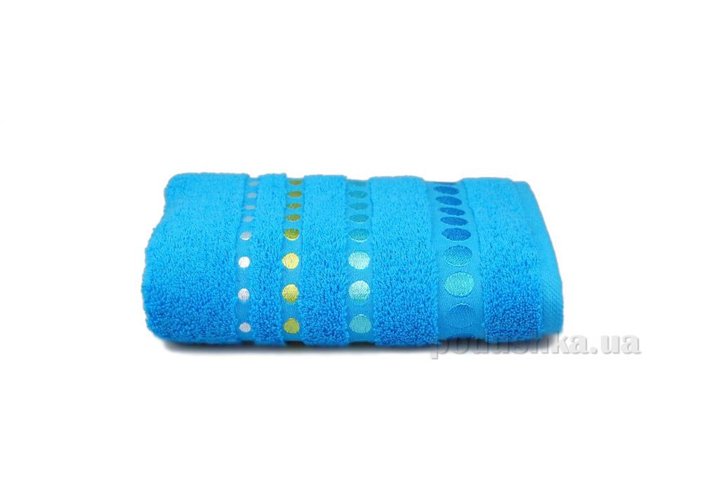 Полотенце махровое Home line Pretty dots синее