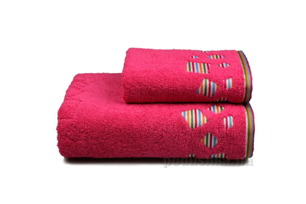 Полотенце махровое Home line Rainbow new розовое