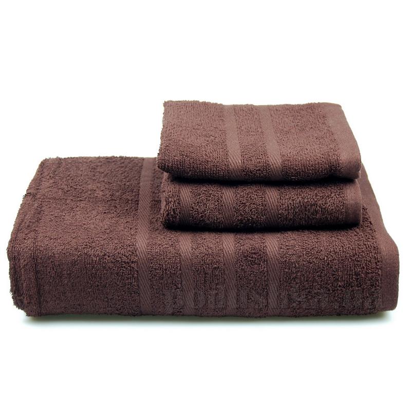 Полотенце махровое Home line шоколадное 104365