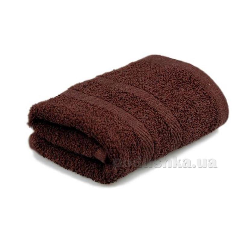 Полотенце махровое Home line шоколадное
