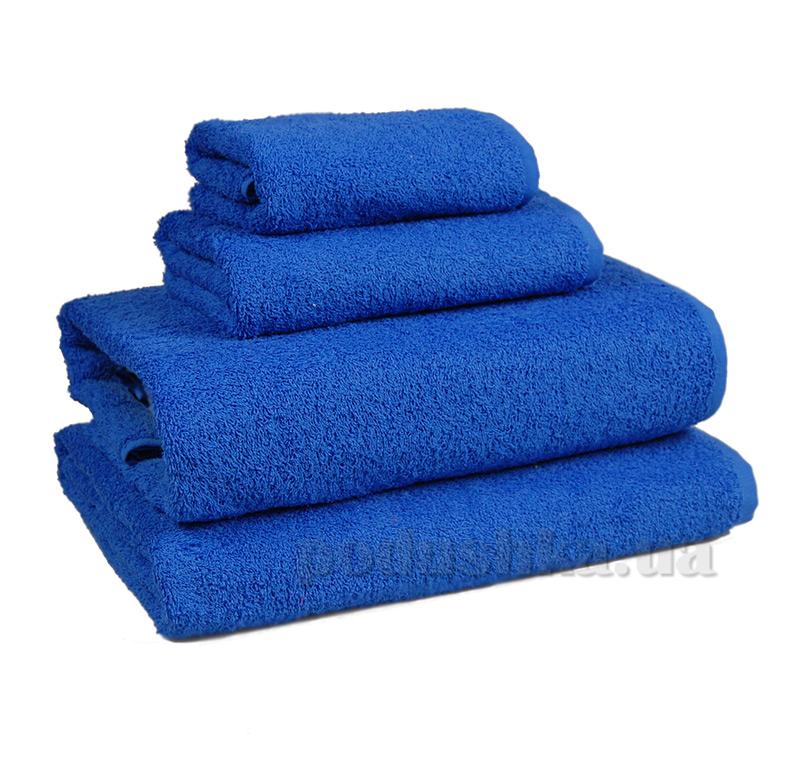 Полотенце махровое Home line синий 114467
