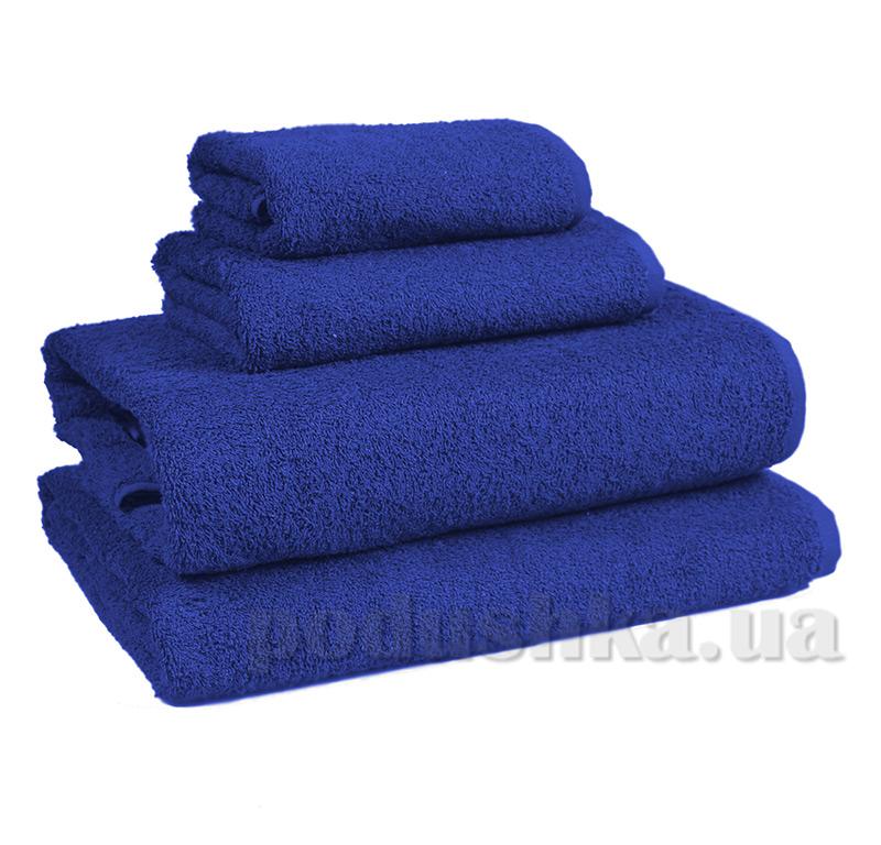 Полотенце махровое Home line темно-синее 114469