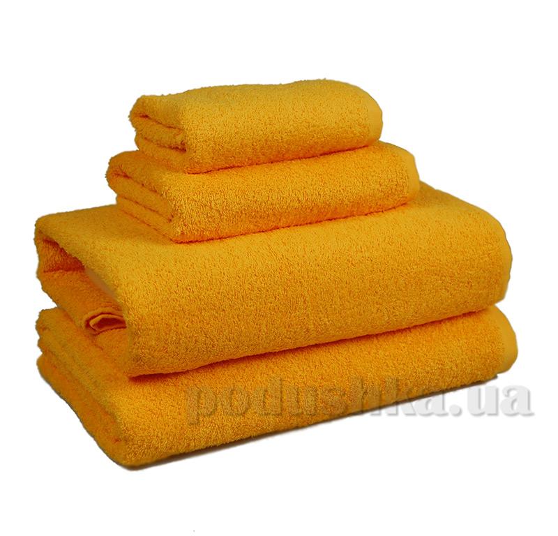 Полотенце махровое Home line желтое 114475