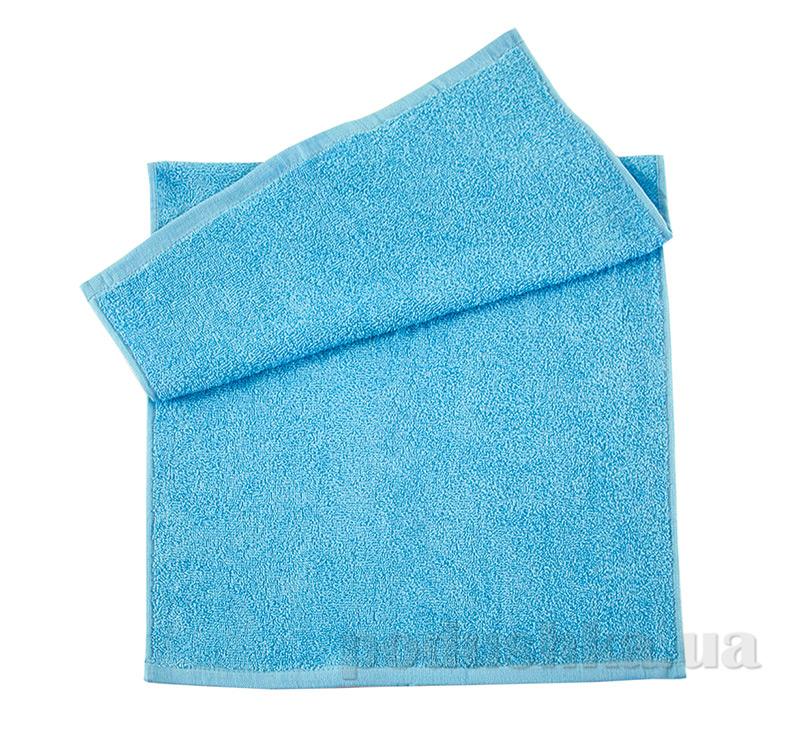 Полотенце махровое Индия Ярослав голубое