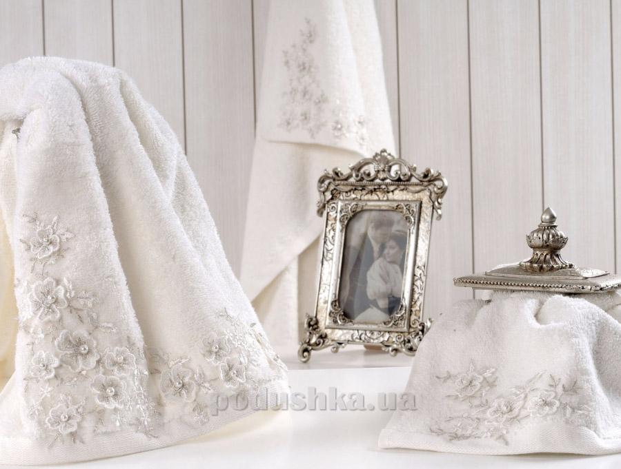 Полотенце махровое Irya Bride молочное