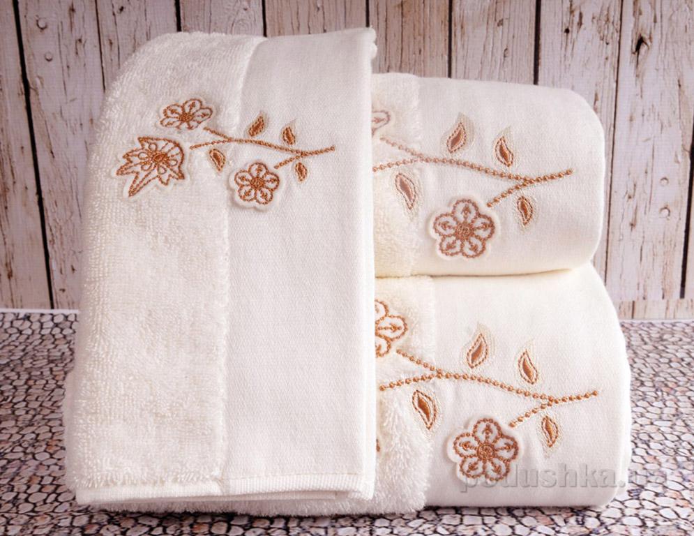 Полотенце махровое Irya Ivy bej