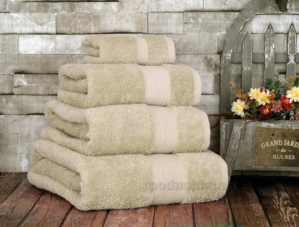 Полотенце махровое Irya Karya beige