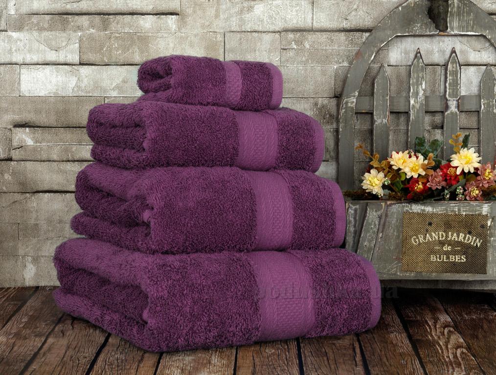 Полотенце махровое Irya Karya purple