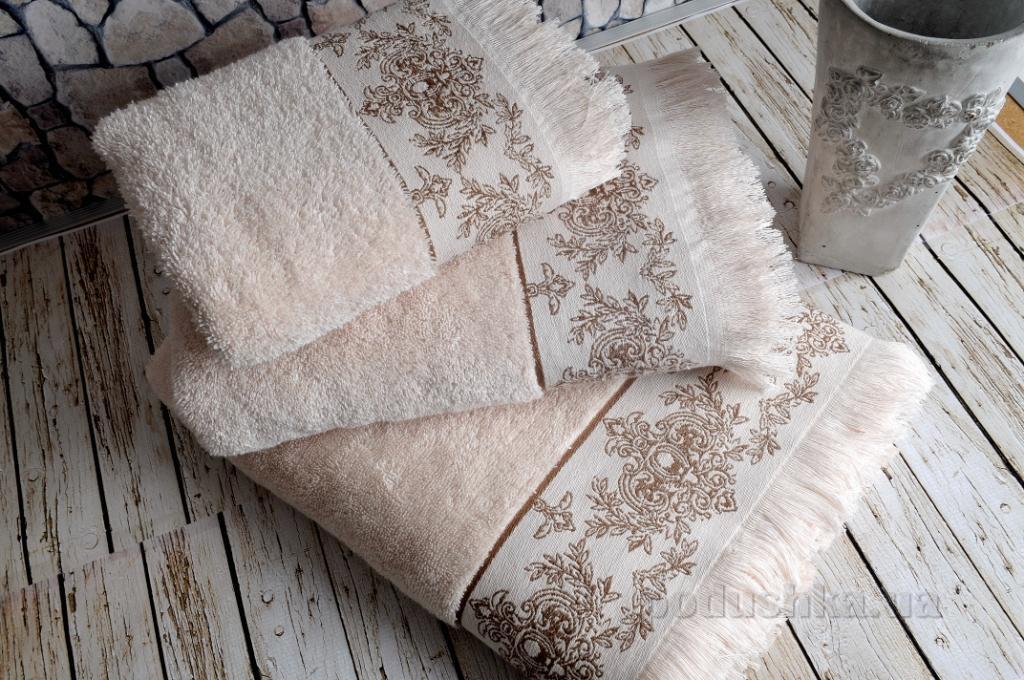 Полотенце махровое Irya Pandora bej