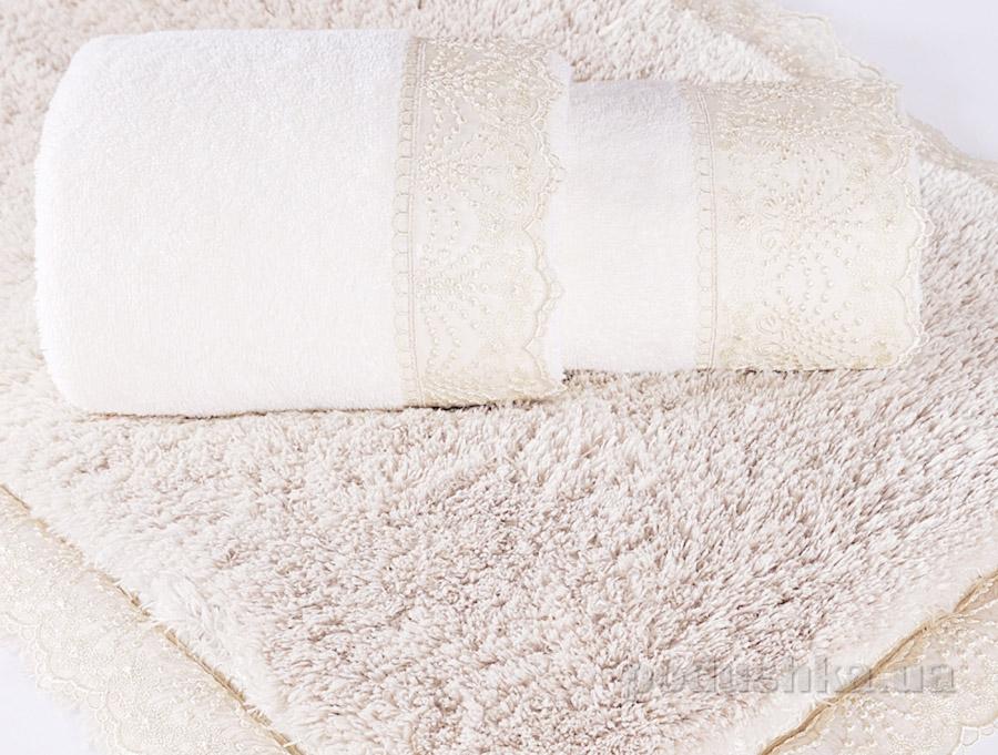 Полотенце махровое Irya Stella молочное
