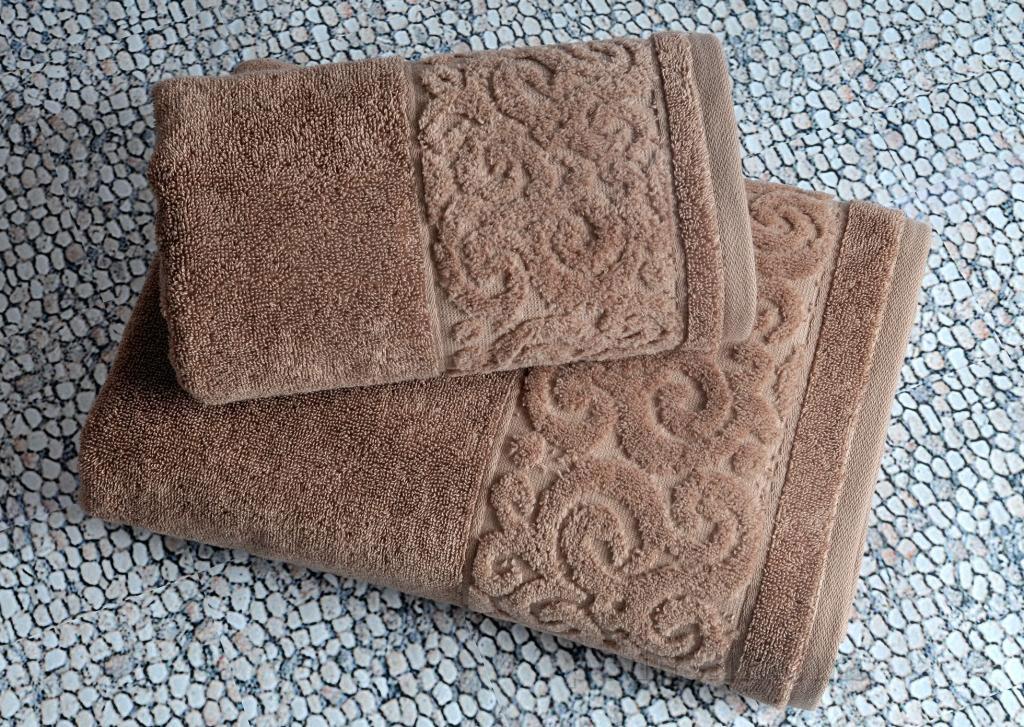Полотенце махровое Irya Tiffany tiramisu