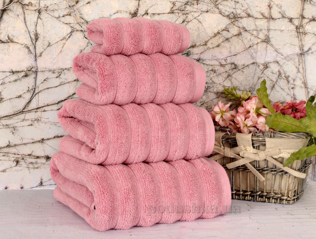 Полотенце махровое Irya Waves pink