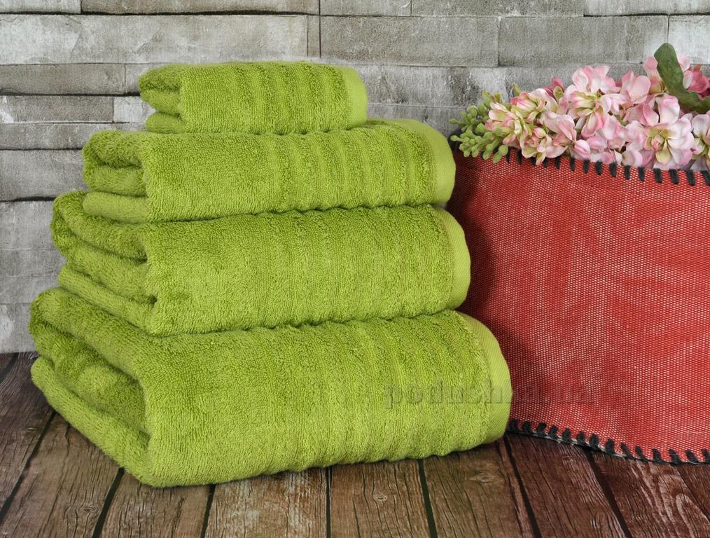 Полотенце махровое Irya Wellas green