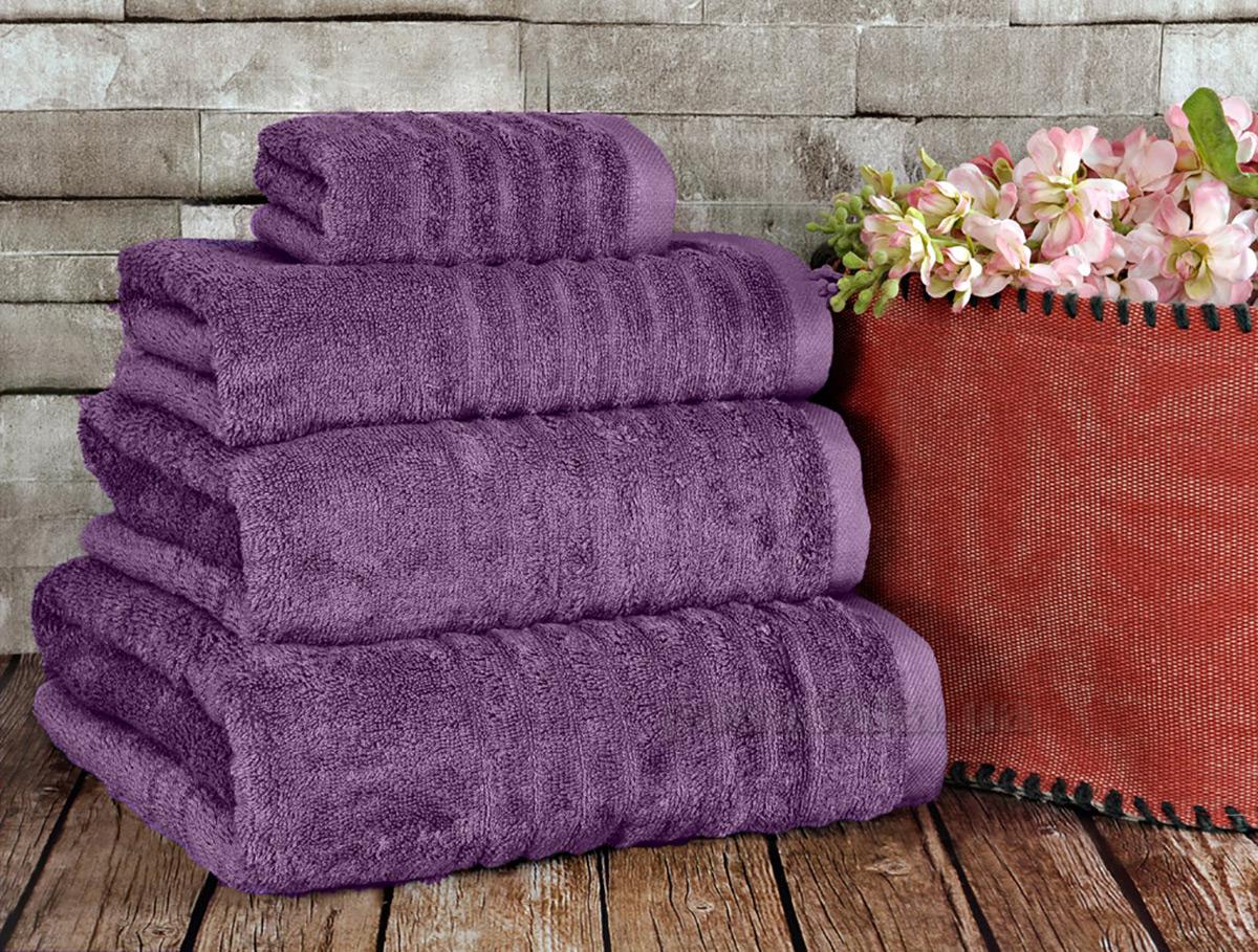 Полотенце махровое Irya Wellas purple