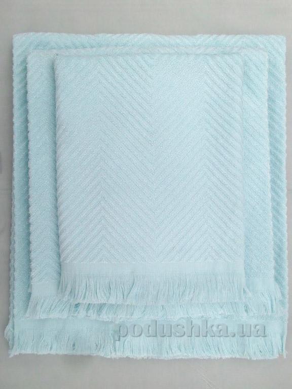 Полотенце махровое Issimo Andorra mint
