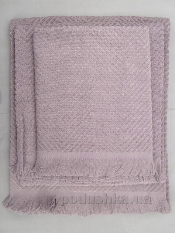 Полотенце махровое Issimo Andorra purple