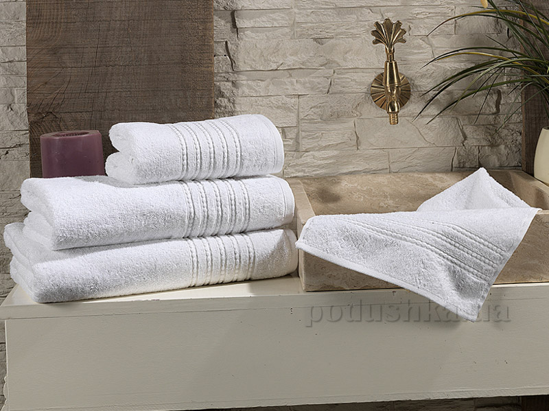 Полотенце махровое Issimo Linea white
