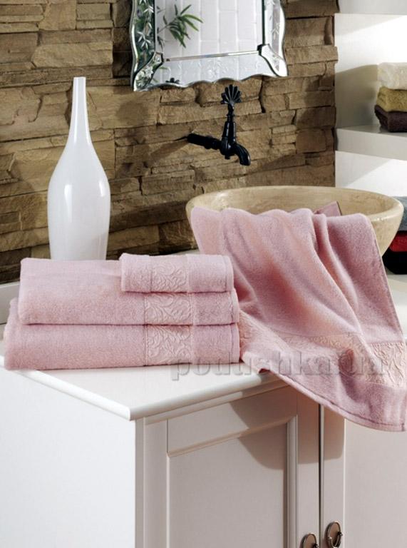 Полотенце махровое ISSIMO Ravenna Pink розовое