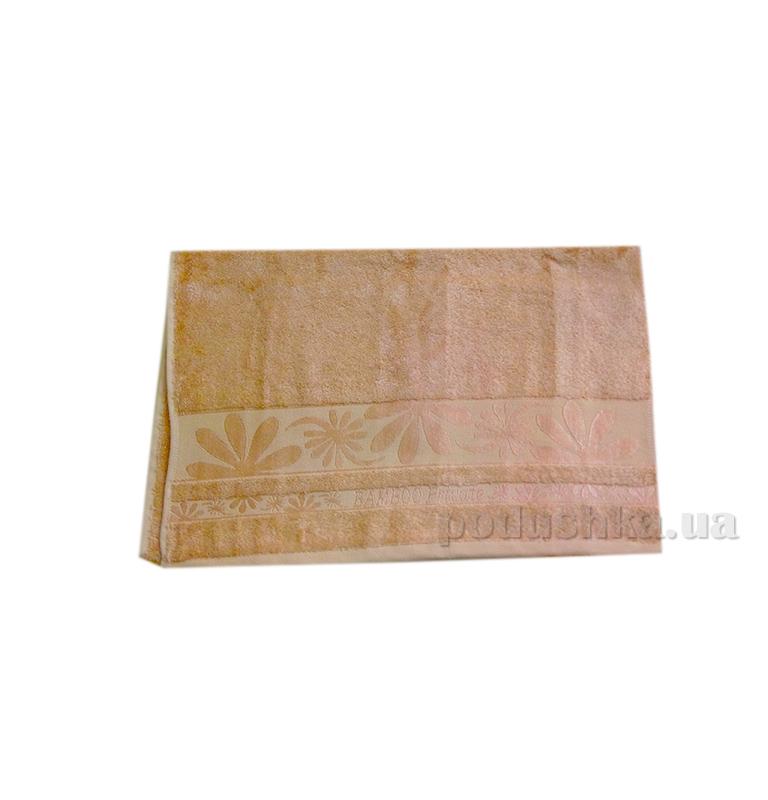 Полотенце махровое Issihome Bamboo Private коричневое