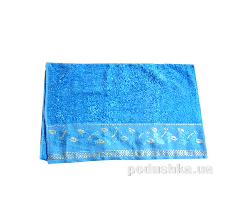 Полотенце махровое Issihome Defne голубое