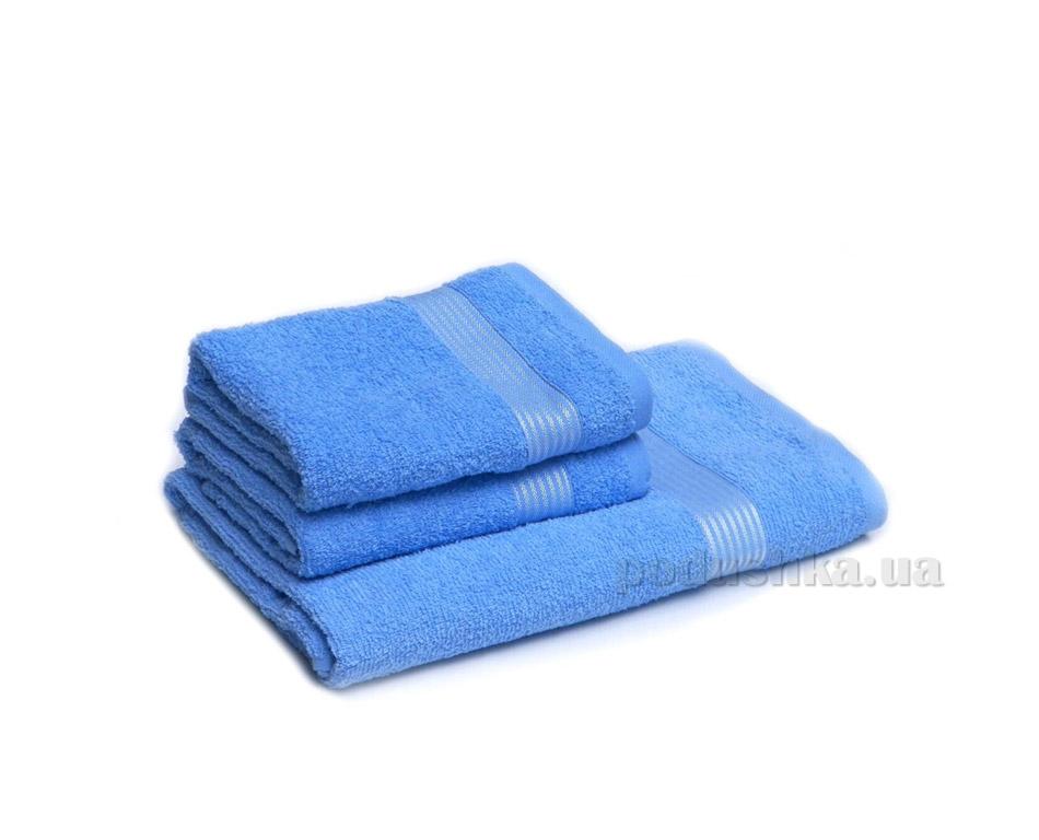 Полотенце махровое Izzihome Dray 1700 голубое