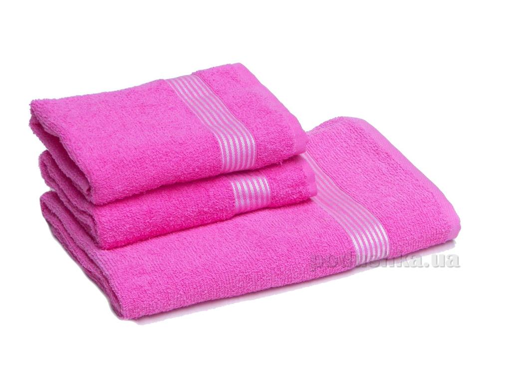 Полотенце махровое Izzihome Dray 1700 розовое