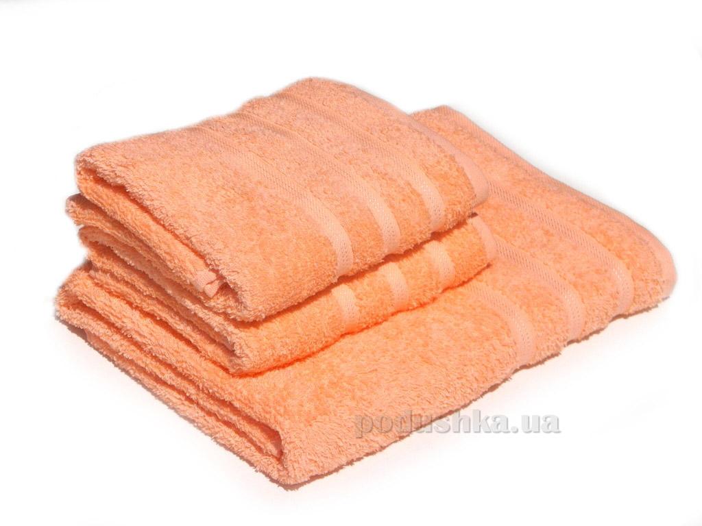 Полотенце махровое Izzihome Dray 2000 персиковое