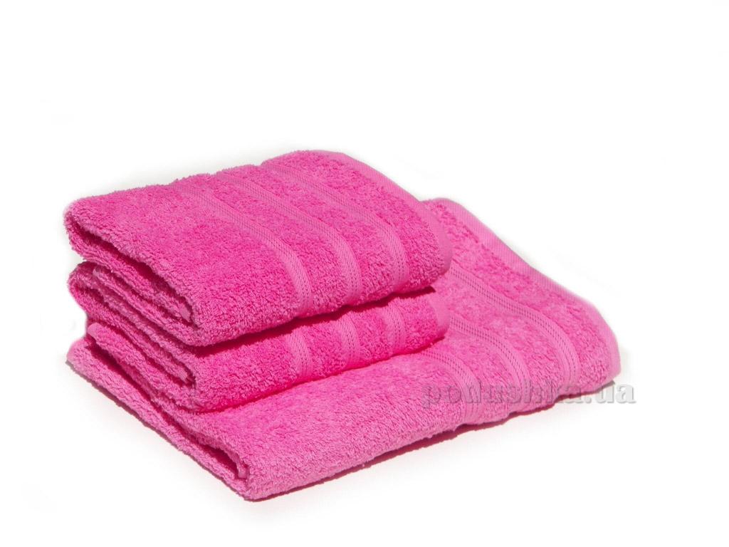 Полотенце махровое Izzihome Dray 2000 розовое