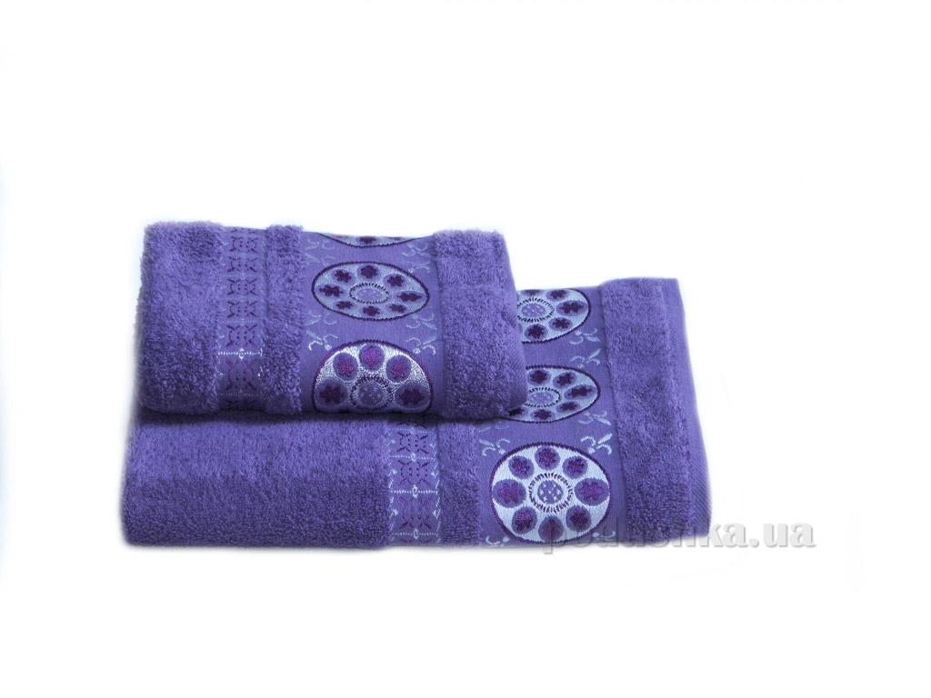 Полотенце махровое Izzihome Erotes-2 фиолетовое