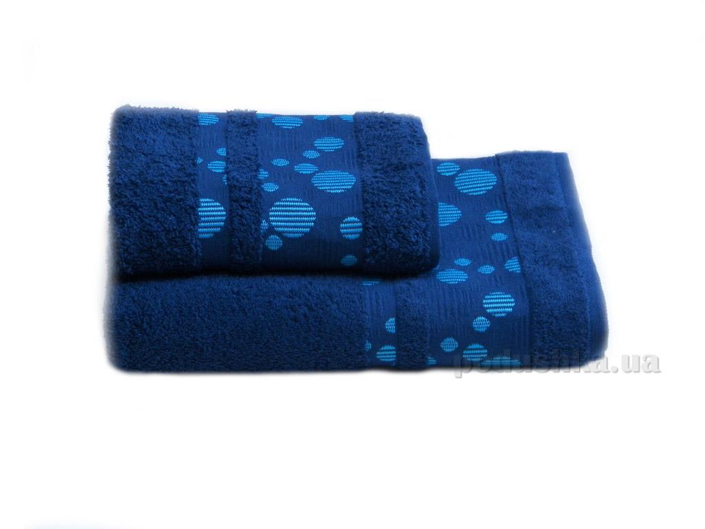 Полотенце махровое Izzihome Erotes-3 синее