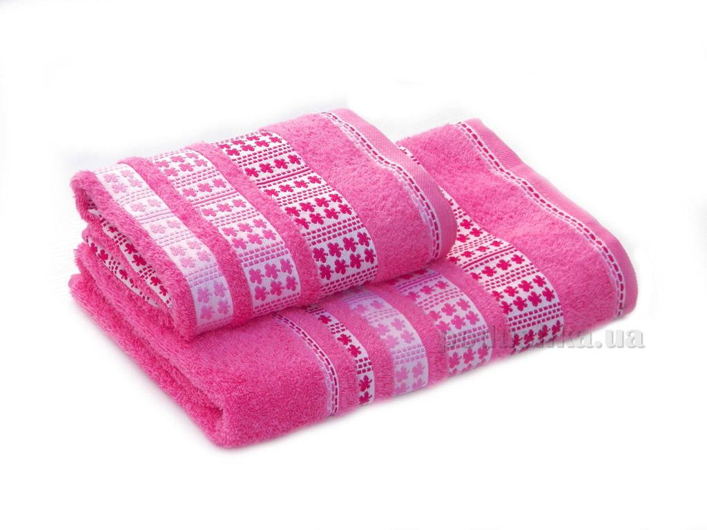 Полотенце махровое Izzihome Erotes-4 розовое