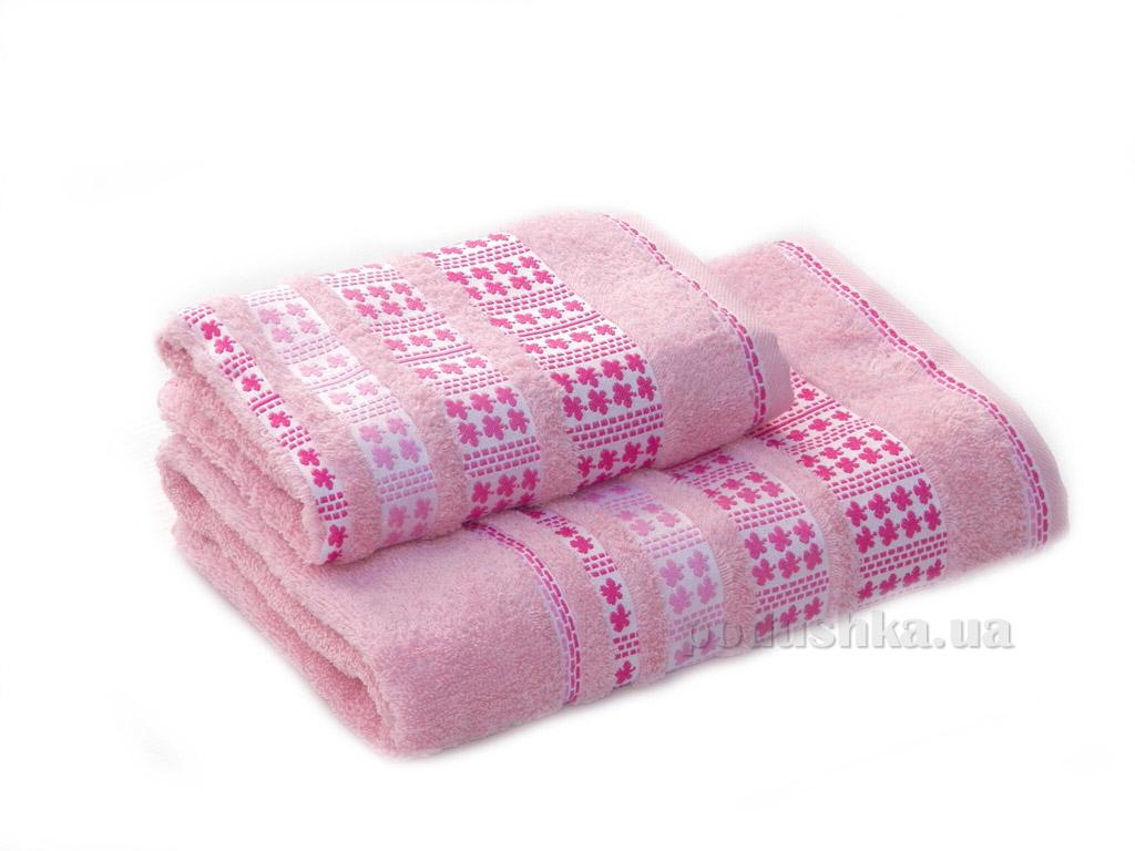Полотенце махровое Izzihome Erotes-4 светло-розовое