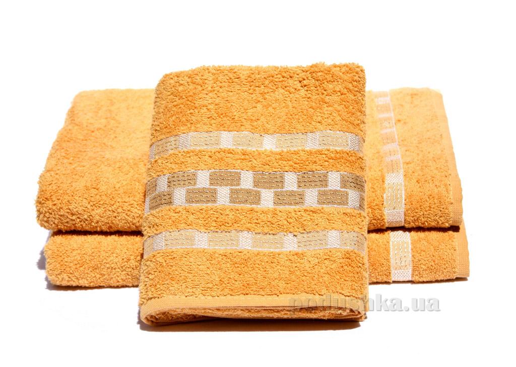 Полотенце махровое Izzihome Sport желтое