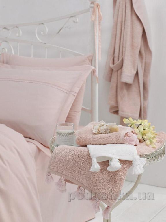 Полотенце махровое Ladinne Luca blush