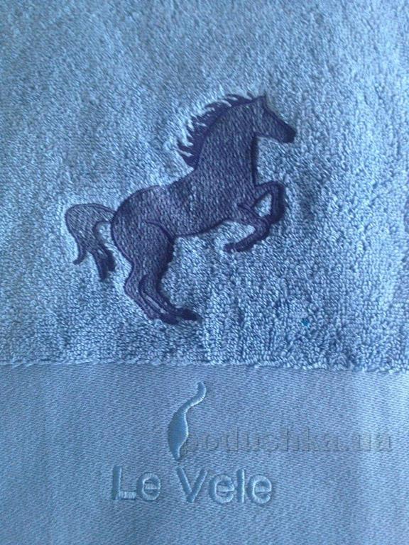 Полотенце махровое Le Vele Zero 50х100 см цвет - малиновый Le Vele