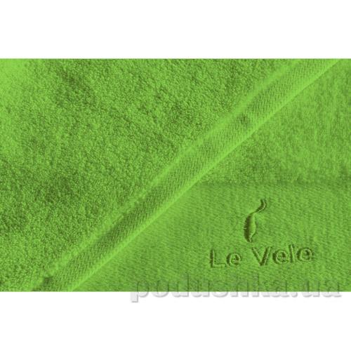 Полотенце махровое Le Vele Zero twist b.green ярко-зеленое