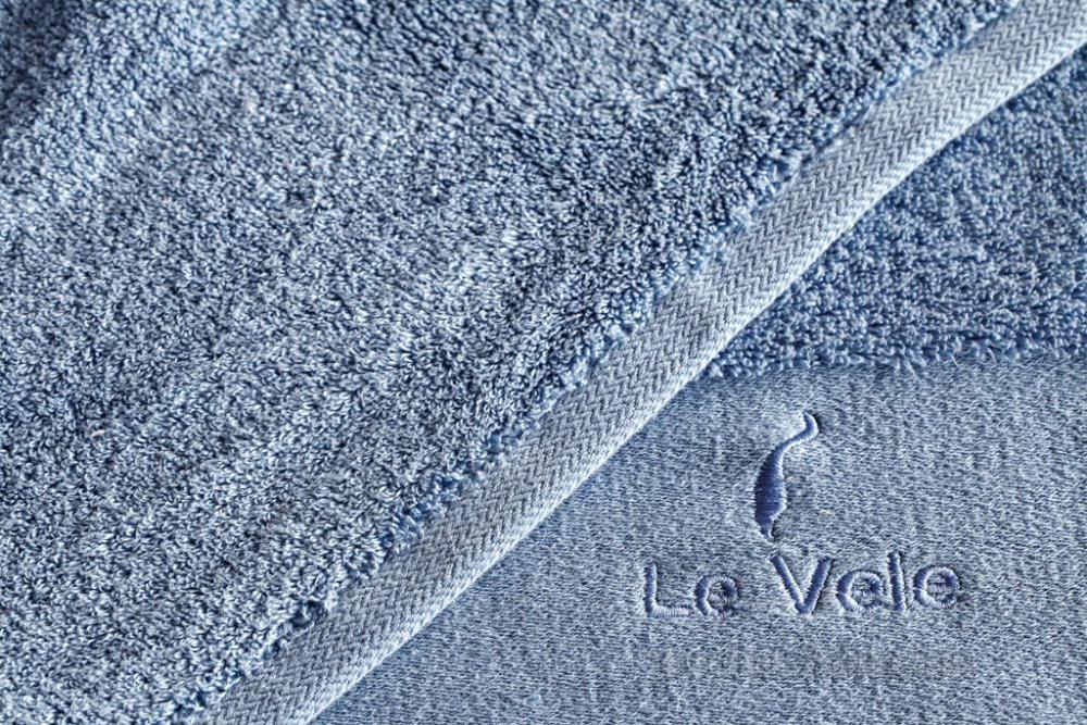 Полотенце махровое Le Vele Zero twist blue синее