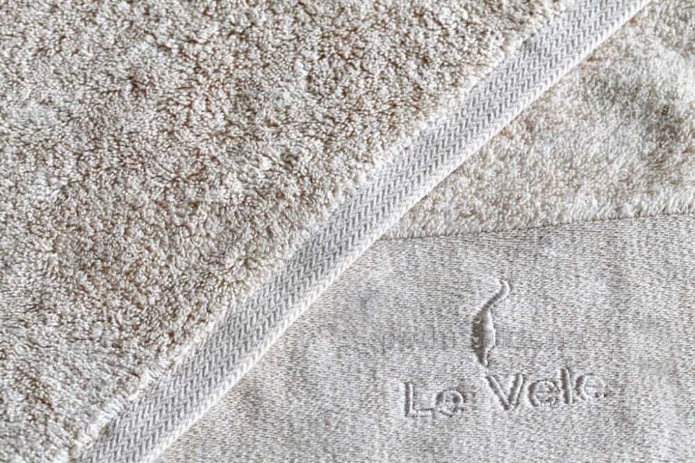 Полотенце махровое Le Vele Zero twist ecru молочное