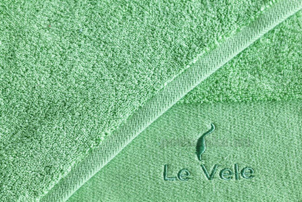 Полотенце махровое Le Vele Zero twist green зеленое