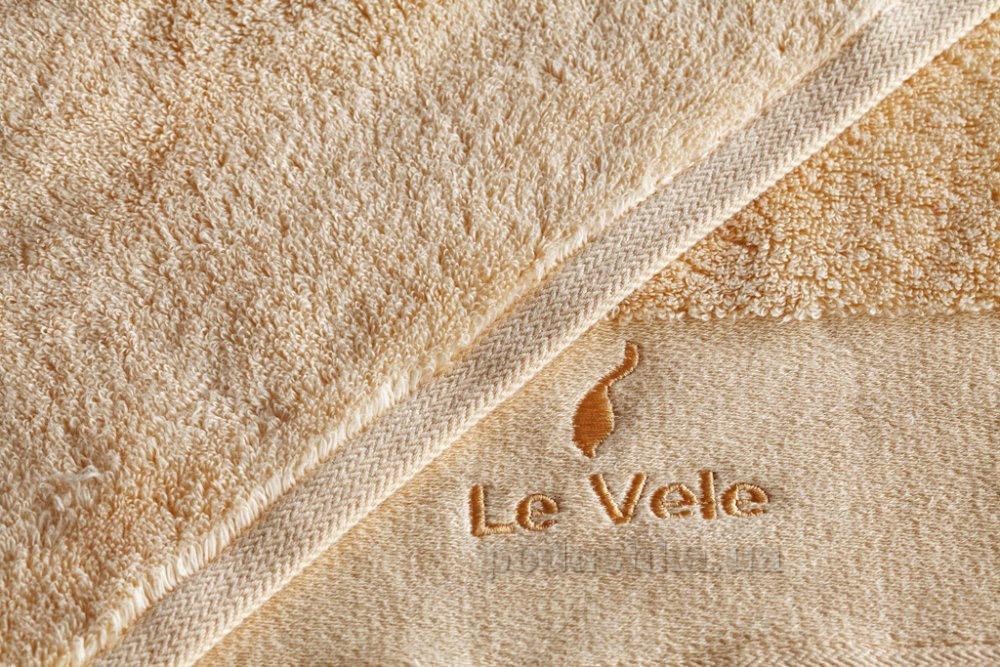 Полотенце махровое Le Vele Zero twist melon персиковое