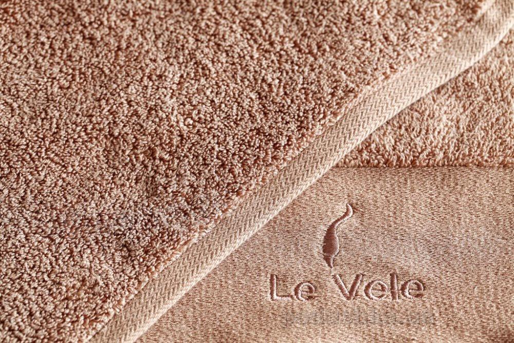 Полотенце махровое Le Vele Zero twist nut коричневое