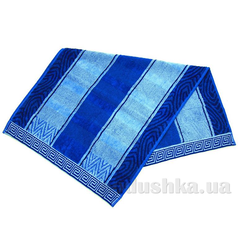 Полотенце махровое Либерти Ярослав голубое