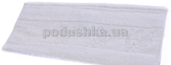 Полотенце махровое Maisonette Bambu белый