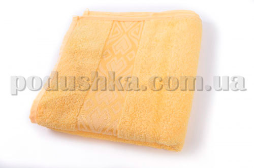 Полотенце махровое Maisonette Inka желтое