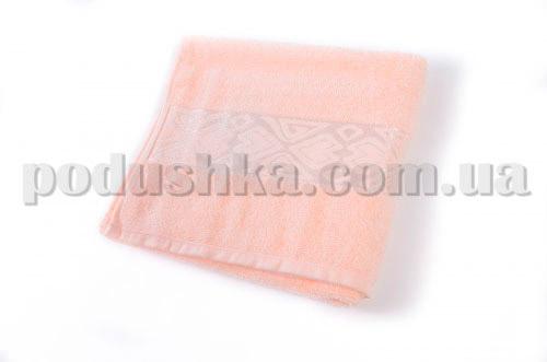 Полотенце махровое Maisonette Inka персиковое