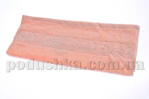 Полотенце махровое Maisonette Sebnem персиковое