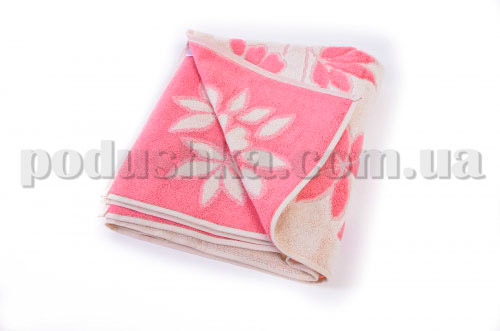 Полотенце махровое Maisonette Solvron розовое