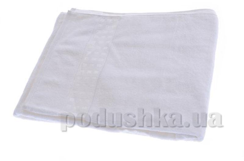 Полотенце махровое банное Maisonette Zero Twist белый